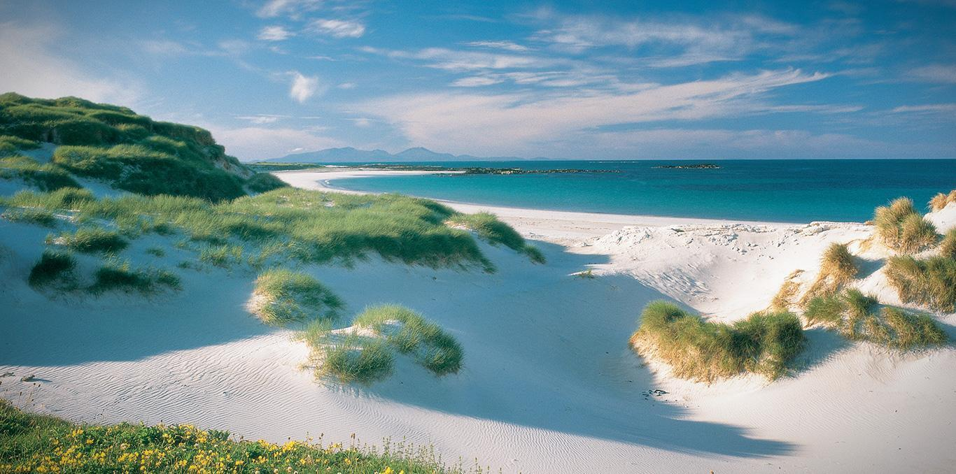 North Uist Balranald Beach