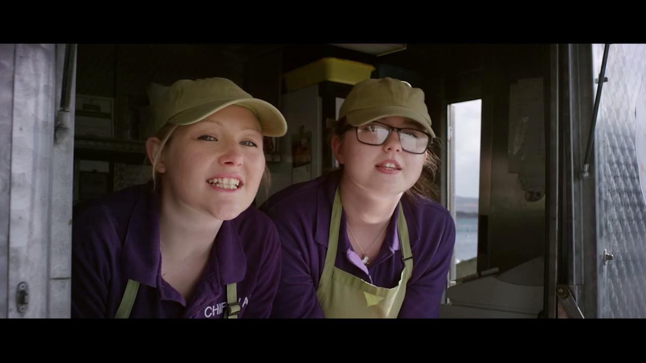 chippy girls - CalMac and Friends