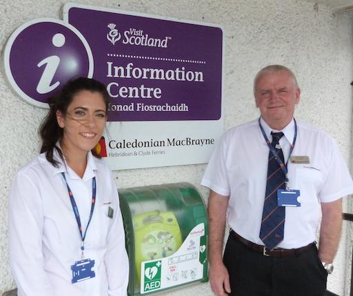 new defibrillator for Craignure