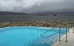 Hot pool at Portavadie