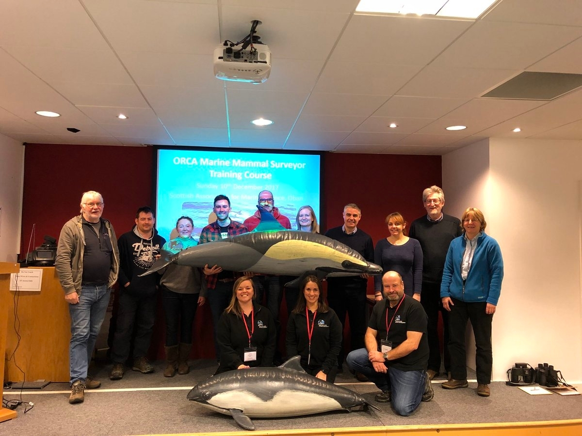 Oban ORCA training December 2017