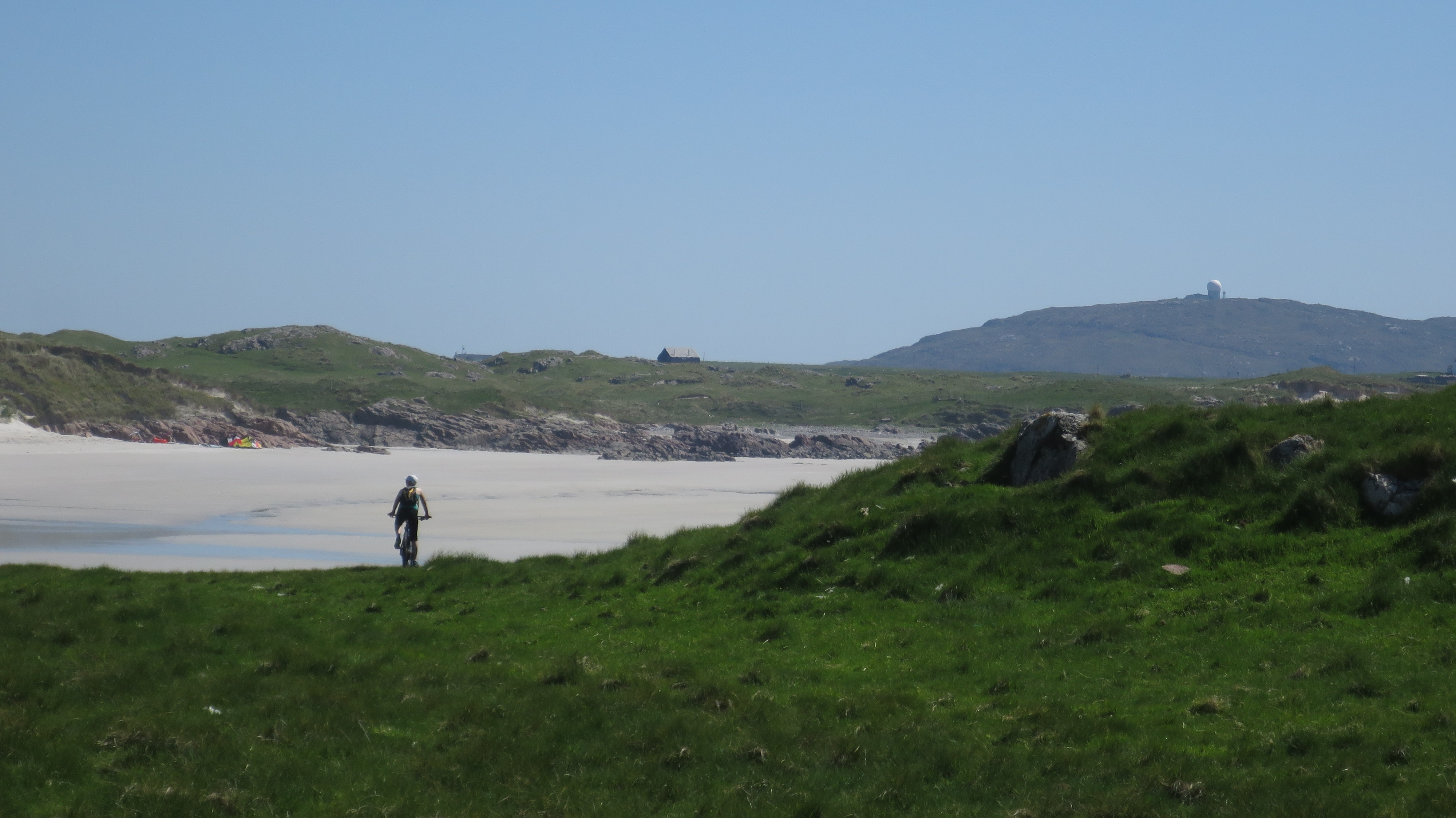 Cycling on Tiree