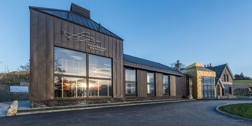 Raasay Distillery - Outside view