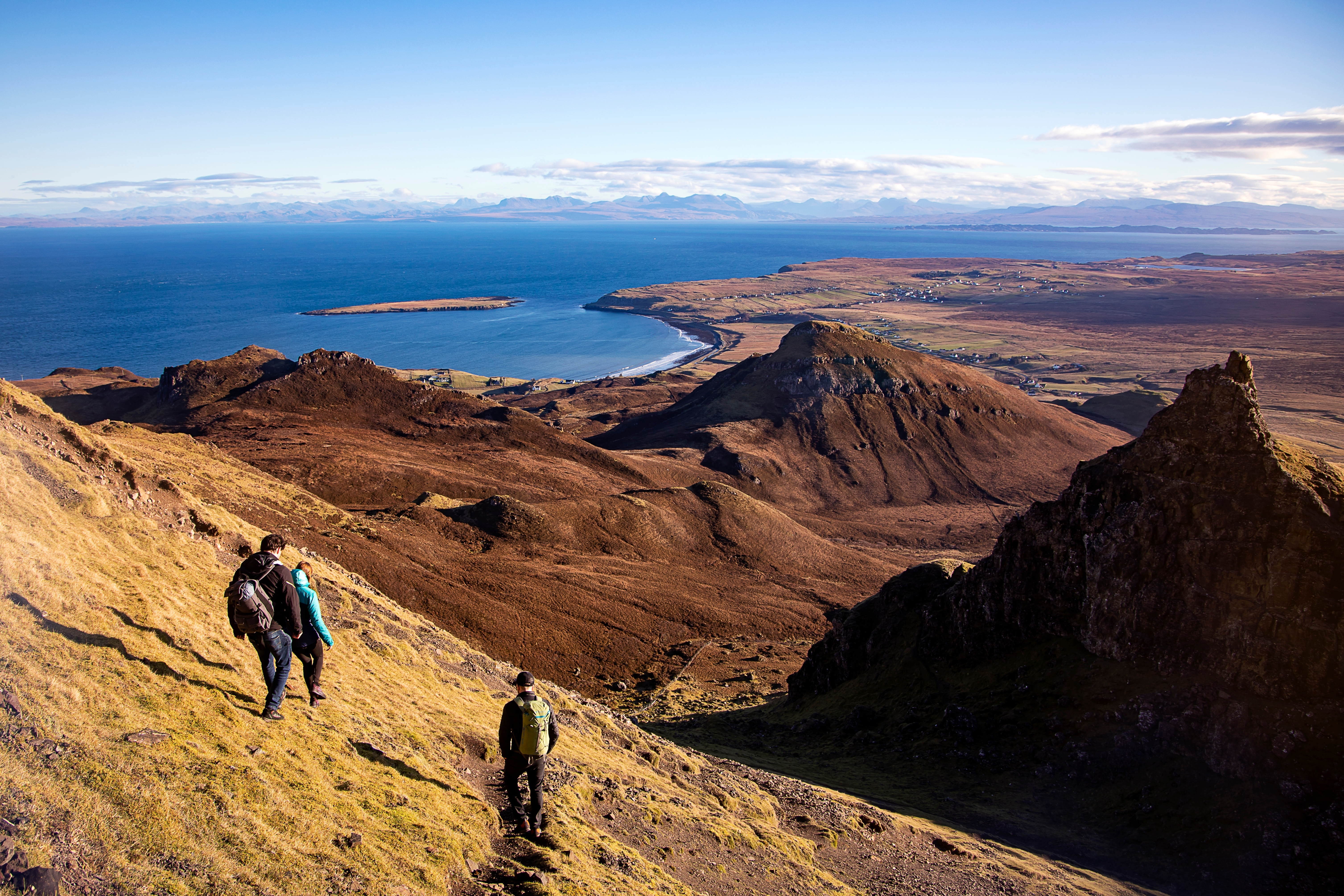Walkers in the Cuillin Skye