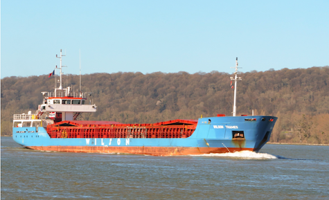 Wilson Thames freighter