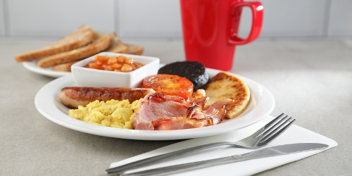 Choose the items of your choice for a hearty breakfast