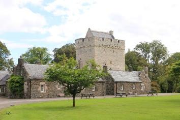 Kames Castle cottages